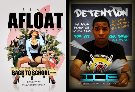 "CLUB ICE ""STAY AFLOAT"" THURSDAYS $10 GETS YOU UNLIMITED DRINKS ALL NIGHT"