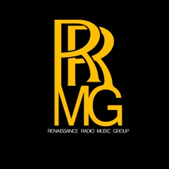 RENAISSANCE RADIO MUSIC GROUP LOGO (gold) BRIAN HYPPOLITE